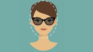 Gafas para rostro alargado