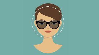 Gafas para rostro redondo