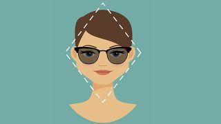 Gafas para rostro diamante - rombo