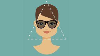 Gafas para rostro triángulo