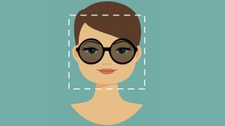 Gafas para rostro ovalado - Cuadrado