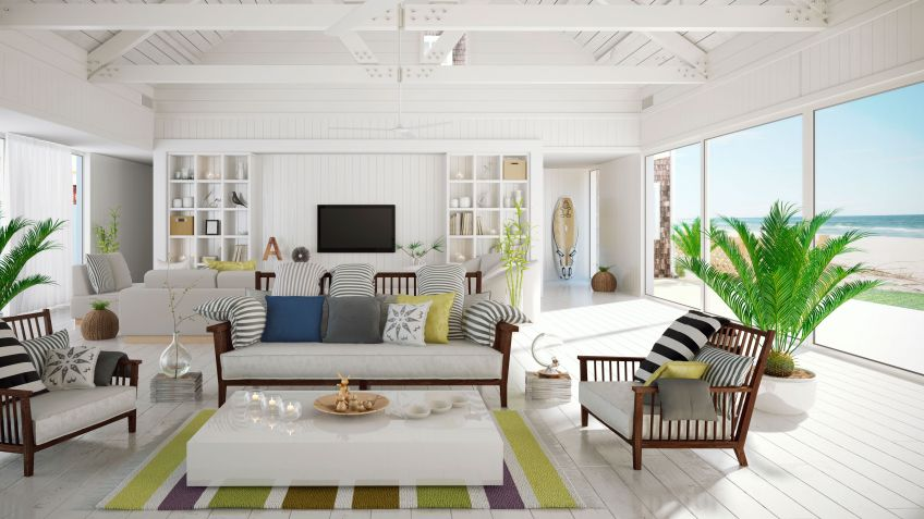 Ideas para decorar una casa en la playa   hogarmania