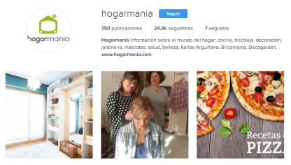 Hogarmania en Instagram