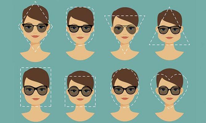 da3bff2b09 Gafas de sol según tu rostro - Hogarmania
