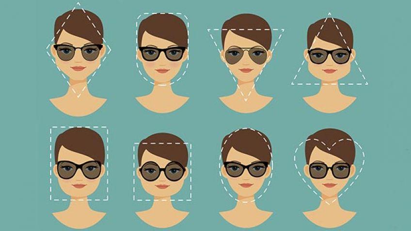 2e3f7f02fa Qué tipo de gafas usar según mi tipo de rostro para el verano