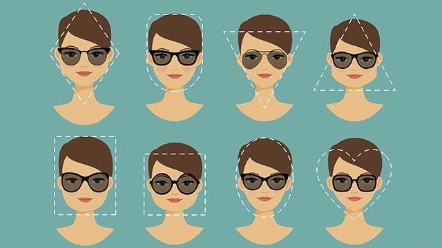 Gafas de sol según la forma de tu rostro