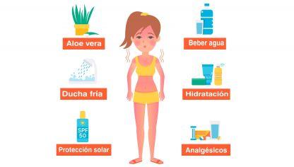 Efectos del sol en el ser humano