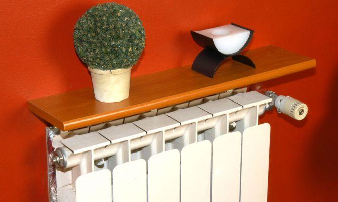 Soporte especial para balda sobre radiador bricoman a - Soporte para baldas ...