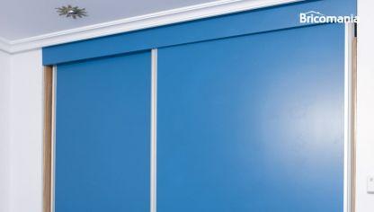 Tabique para puerta corredera oculta bricoman a - Puertas de armario empotrado ...