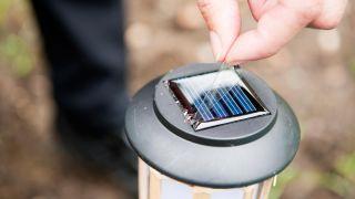 Balizas de jardín solares