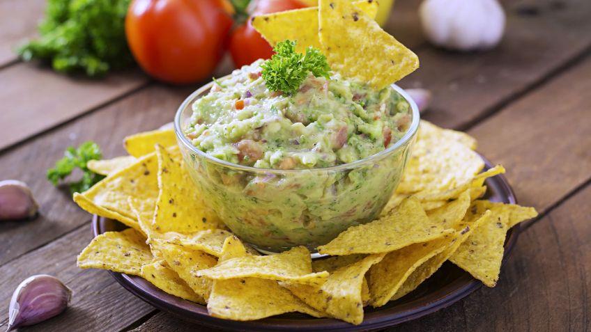 Comida mexicana receta de guacamole