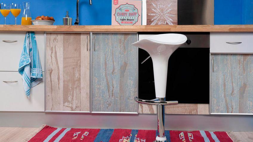 Renovar muebles de la cocina sin obras - Hogarmania