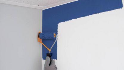 C mo renovar las paredes con efectos decorativos hogarmania - Programa para pintar paredes ...