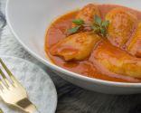 Chipirones rellenos en salsa