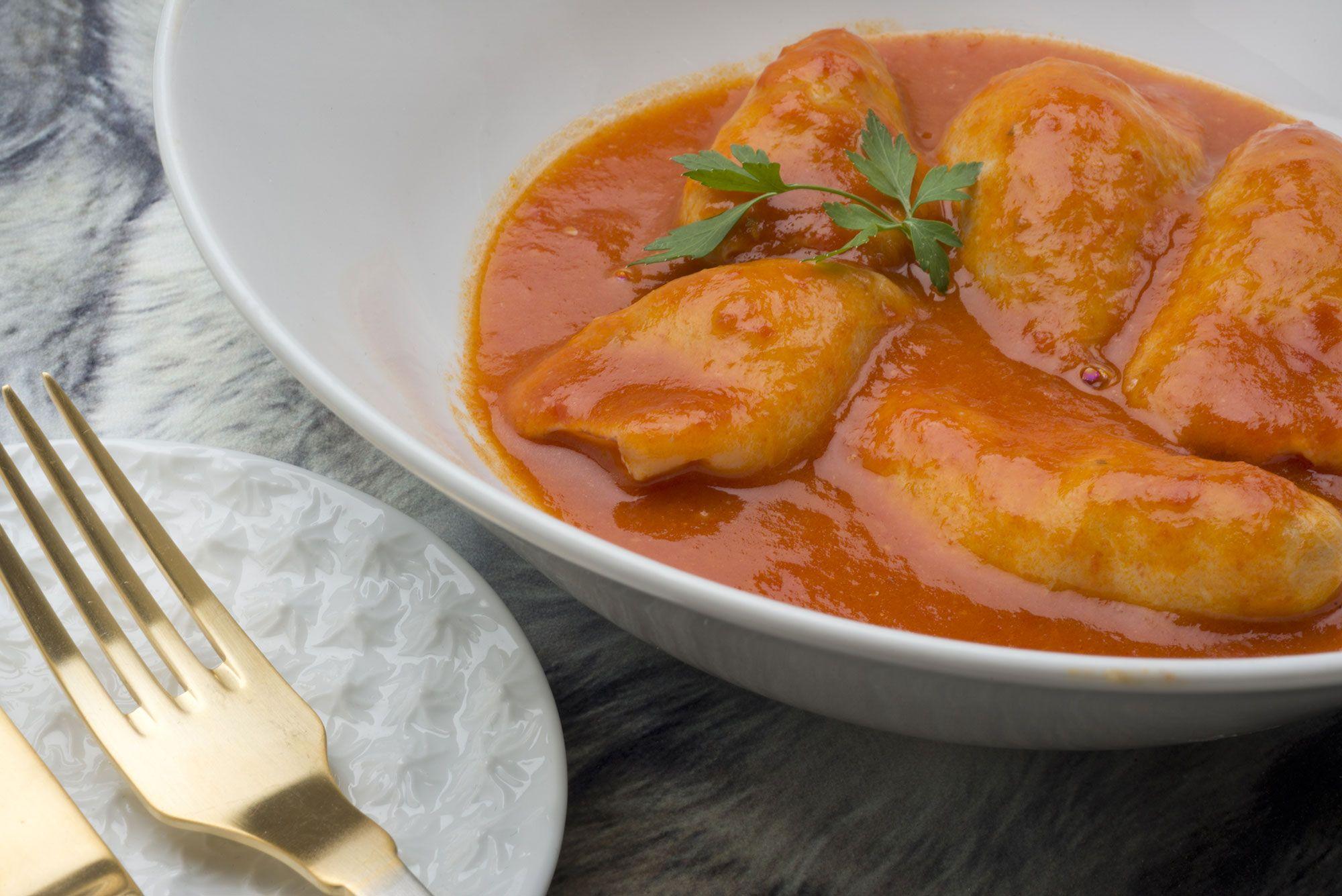chipirones en salsa de Karlos Arguiñano