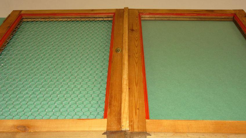 Cambiar el cristal por rejilla en la puerta de un armario - Puerta armario cocina cristal ...