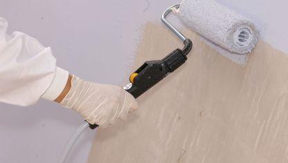 Rodillos de espuma y pelo bricoman a - Rodillos para pintar paredes lisas ...