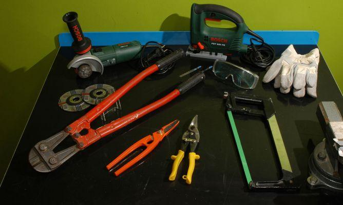 Herramientas para cortar el metal bricolaje bricoman a - Herramientas para bricolaje ...