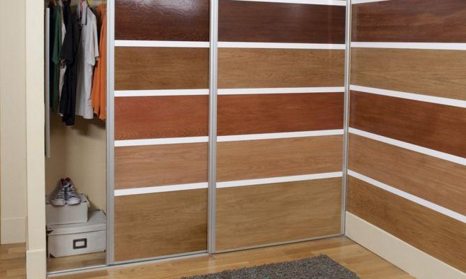 Montar las puertas correderas de un armario empotrado for Bricomania puerta corredera