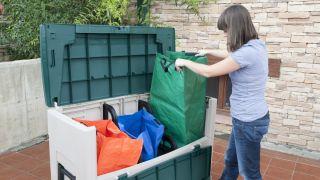 Arcón para reciclar