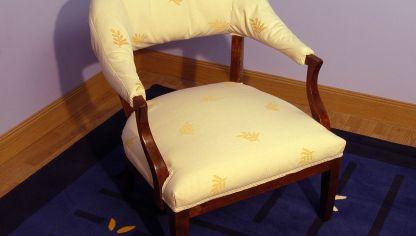 C mo construir una butaca de madera bricoman a - Como tapizar una descalzadora ...