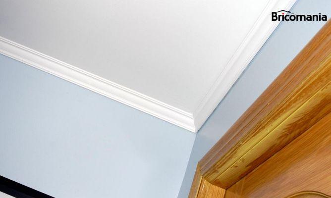 Techo de yeso laminado bricoman a for Como poner chirok en el techo