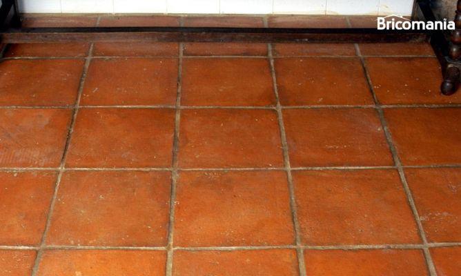 abrillantar suelo de barro cocido natural bricoman a