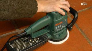 abrillantar y limpiar suelos de barro cocido interior paso 4