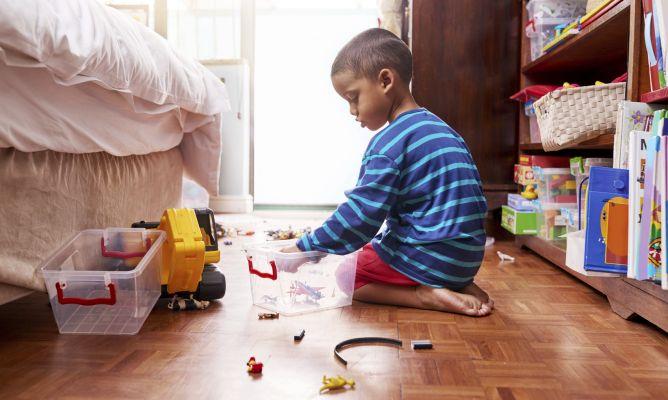 Consejos para organizar las habitaciones de los niños ...