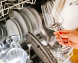 limpiar copas en lavavajillas