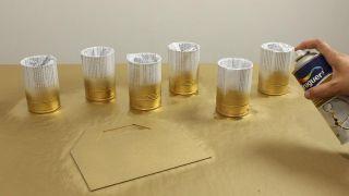 Organizador DIY con latas - Paso 4