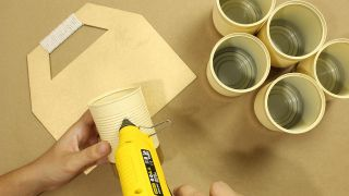 Organizador DIY con latas - Paso 6