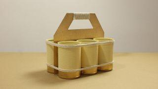 Organizador DIY con latas - Paso 7