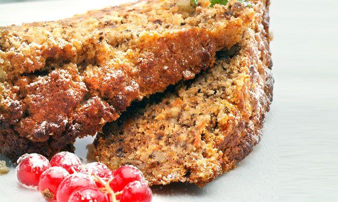 receta de cake de nueces y zanahorias eva arguiñano