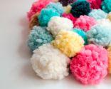 alfombra pompones DIY - paso 5