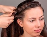 peinado trenza corona - paso 2