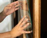 Cómo colocar cristal en puerta