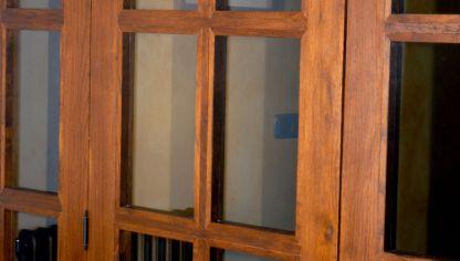 Cambiar cristal de ventana bricoman a - Como ajustar una puerta de madera ...