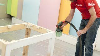 Hacer una mesa de madera paso 11