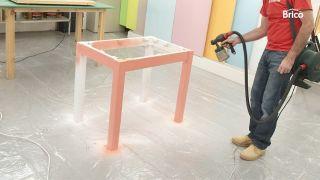 Hacer una mesa de madera paso 13