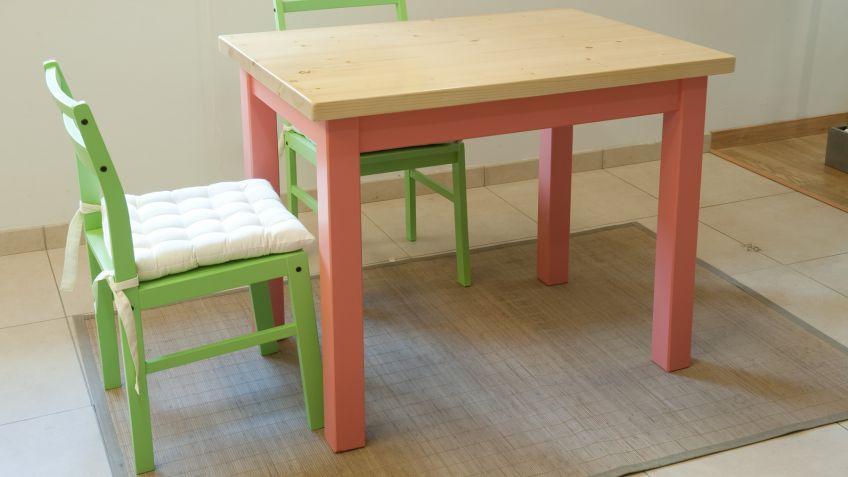 Cómo hacer una mesa básica de madera - Bricomanía