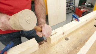 Hacer una mesa de madera paso 4