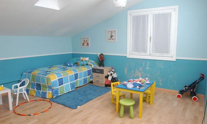 C mo pintar una habitaci n infantil bricoman a for Programa para disenar cuartos