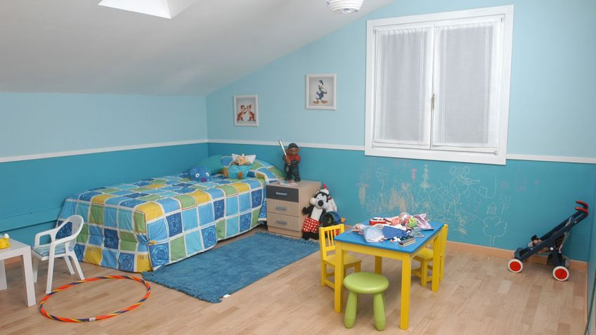 cmo pintar una habitacin infantil paso a paso bricomana - Pintar Habitacion
