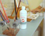 Accesorio para limpiar pinceles y brochas