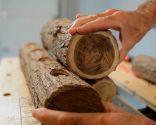 Hacer troncos decorativos con velas