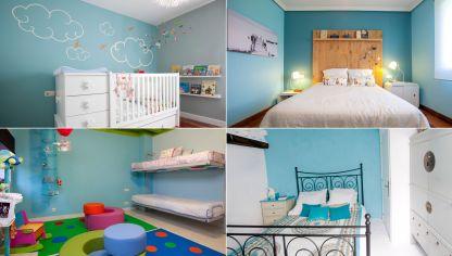 Ideas para decorar el dormitorio de matrimonio hogarmania - Cabeceros plateados ...