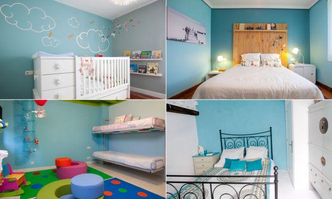Colores para el dormitorio azul hogarmania for Color de moda para el dormitorio principal