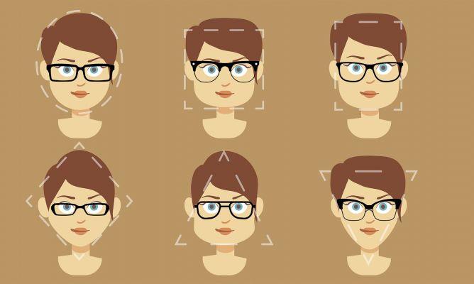 1b1d3a0e5a Cómo elegir modelo de gafas según tu rostro - Hogarmania