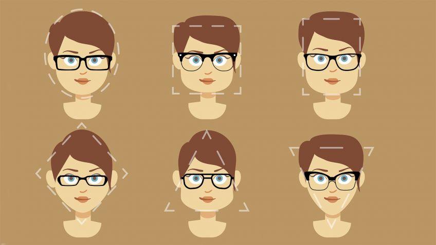 Cómo elegir modelo de gafas según tu rostro - Hogarmania